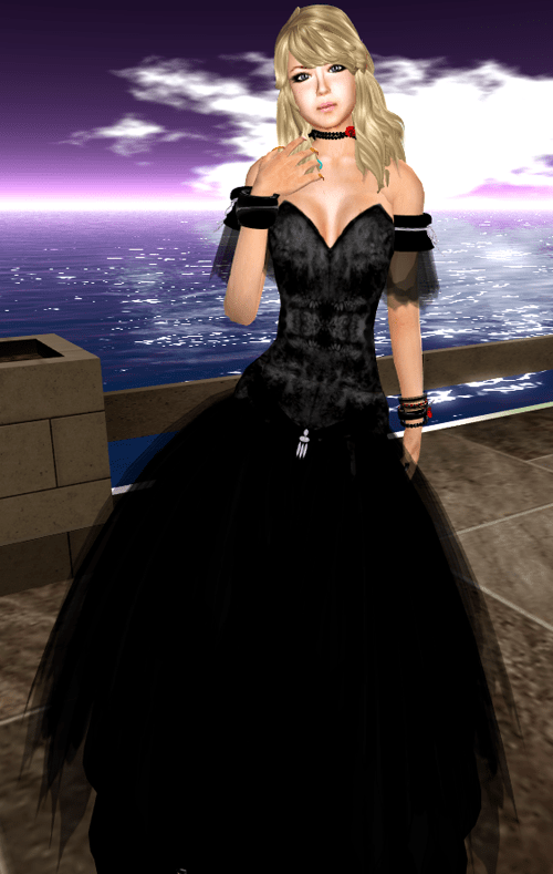 [K~*~S] Contanze - Gown - Midnight