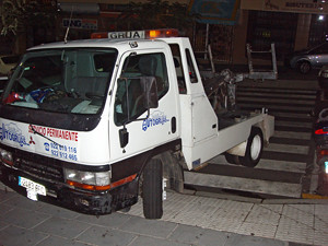 Illegally parked, Moi?