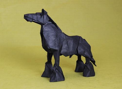 Shire Origami Horse