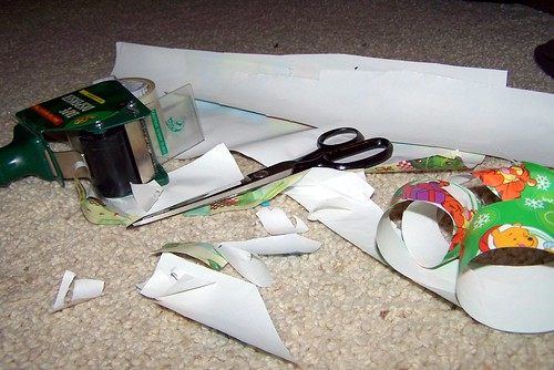 Wrapping Debris