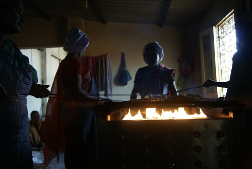 The Chappati making stove