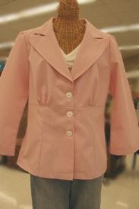 Pinstripe Jacket