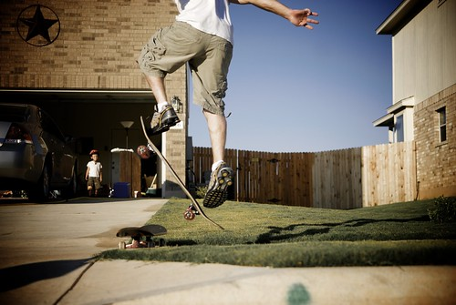 Neighborhood Skateboarding