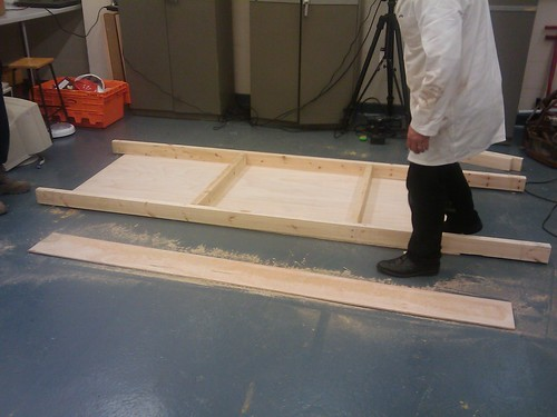 Sandpit construction 1