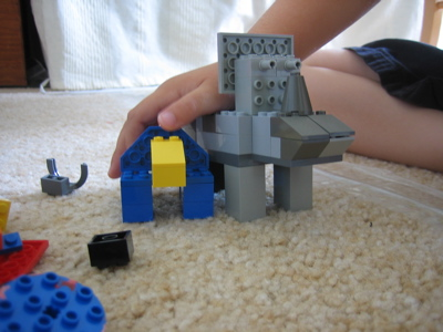 More Lego dinosaurs