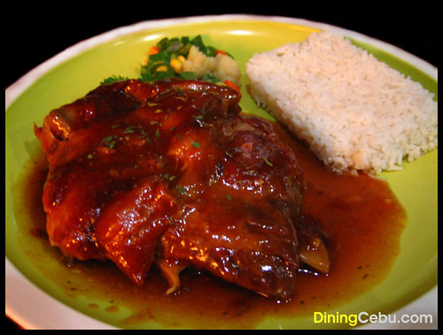 Cebu Restaurant - Tara's Cafe Baby Back Ribs