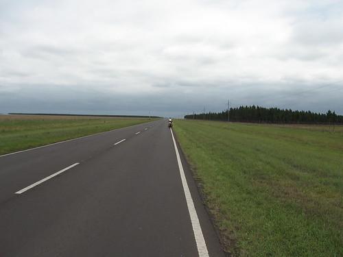 A long open road