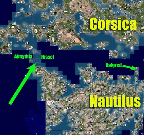 Nautilus to Corsica