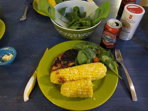 Barbecue Chicken Dinner