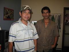 Jesus Contreras y Herbert Colos
