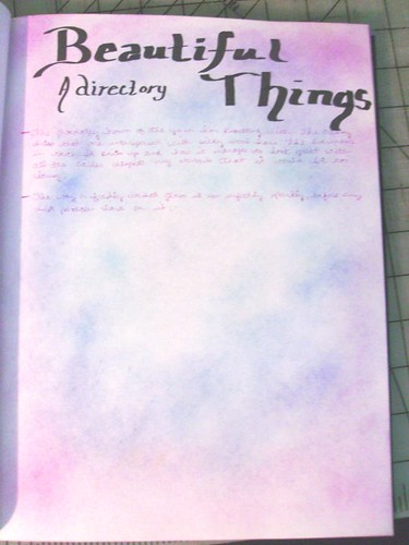 a directory of beautiful things