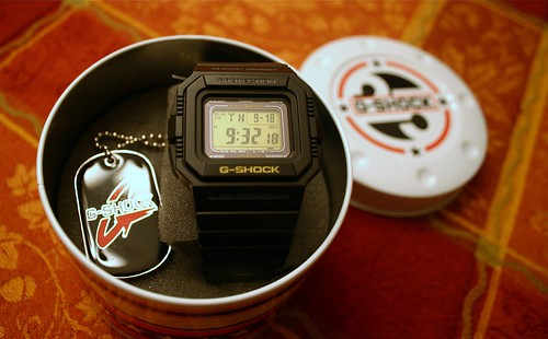 25 anniversary G Shock-recolor