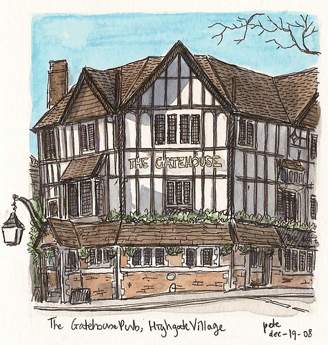 the gatehouse in highgate