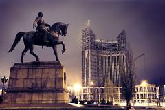 Nightfall in Chisinau