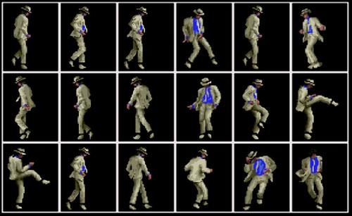 MICHAEL JACKSON MOONWALKER DANCE
