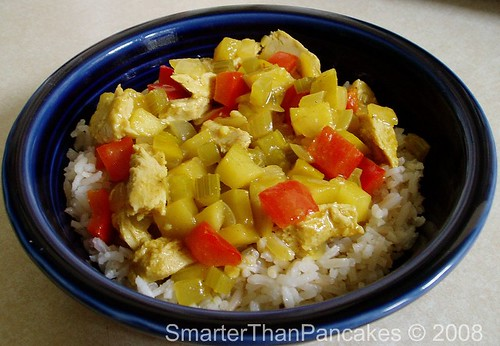 Chik\'n Apple Curry