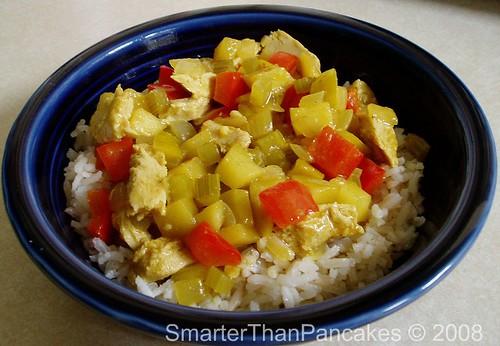 Chik\'n Apple Curry