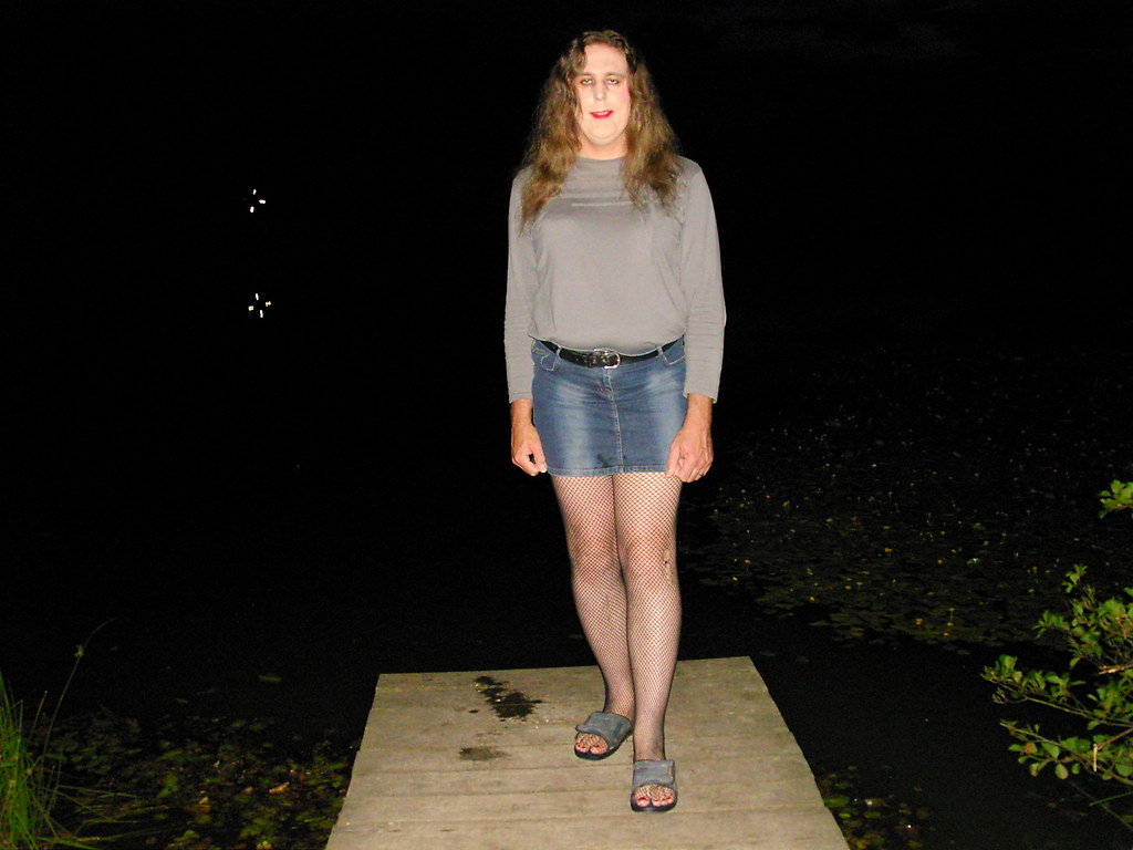 Standing on the jetty