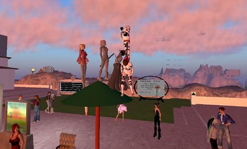Governor Linden\'s Mansion - Second Life