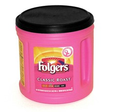 Folgers Pink Can
