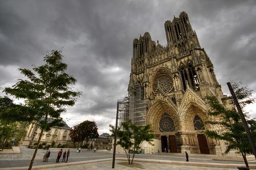 Reims - Cathédrale Notre-Dame