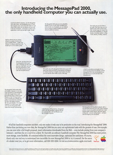 Apple Newton Ad