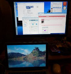 Windows7 Apple LED Cinema Display