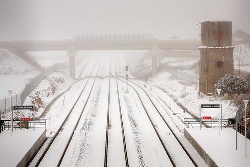 Estación - Depósito y vias