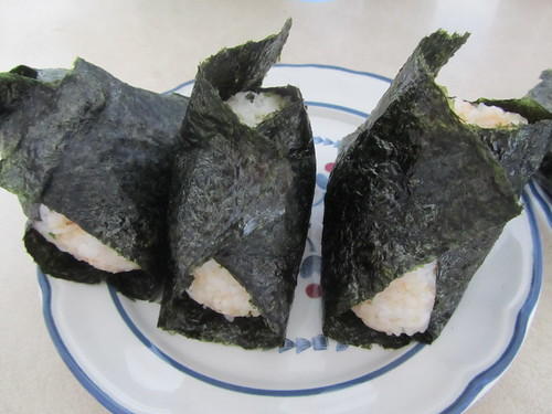 Finished onigiri!