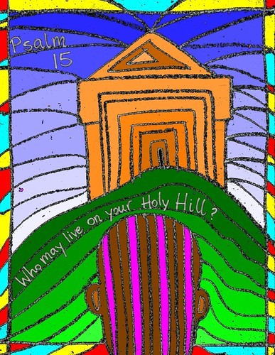 Psalm 15 Holy Hill
