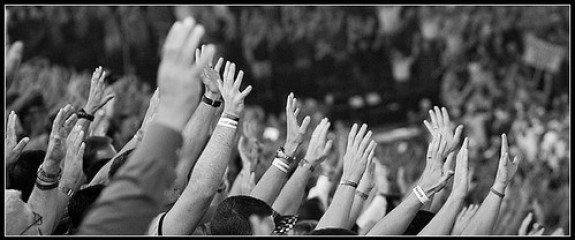 Raise Your Hands To God