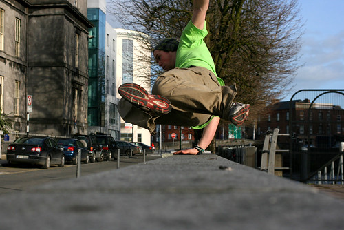 Parkour in Limerick