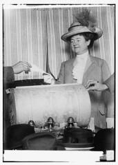 Mrs. Jas. Ralph [i.e. Rolph], Jr., voting (LOC)
