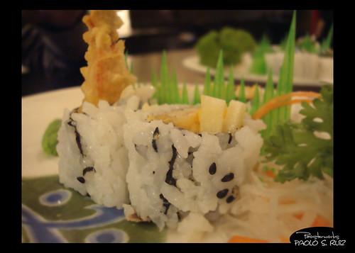 Shrimp Tempura Roll at Ebisu