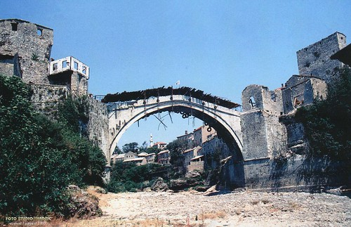 A Stari Most a háborúban