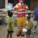 Ronald McDonald Visits a Red Cross Shelter 06.25.08