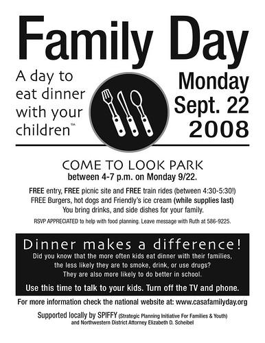 Family Day Dinner