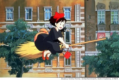 kiki & her broom