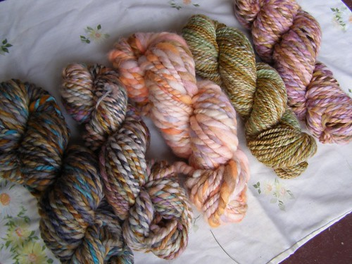 mixing yarns 2