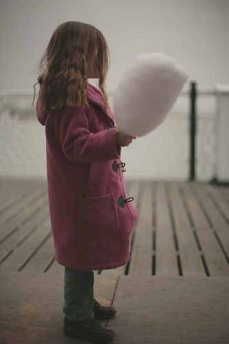 Candyfloss on Brighton Pier by wontfail