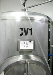 Dix BBQ & Brewery: Conditioning Tank