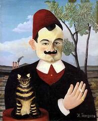 Retrato de Pierre Loti, por Henri Rousseau, 1891