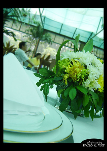 Sonya's Garden, Table Setting