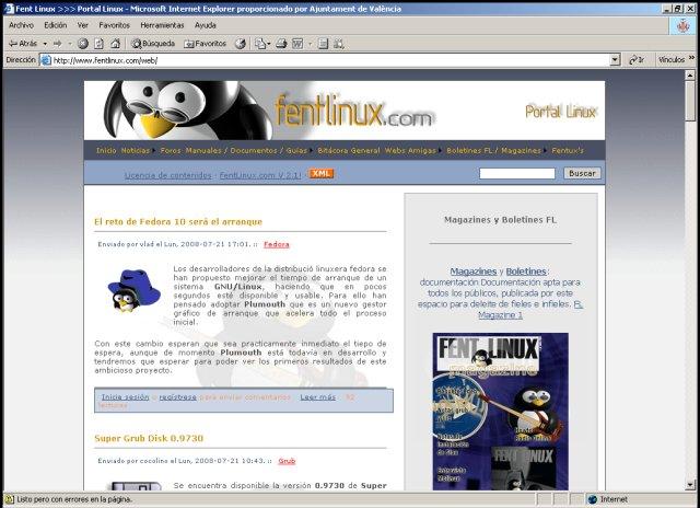 magazines y boletines Linux