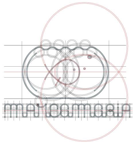 Geometrização do símbolo misto do .marcamaria