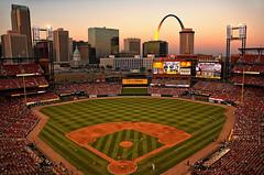 St Louis - Busch Stadium at Sunset
