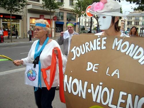 Journée de la non violence.