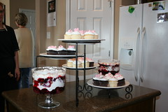 Trifle and Cupcakes