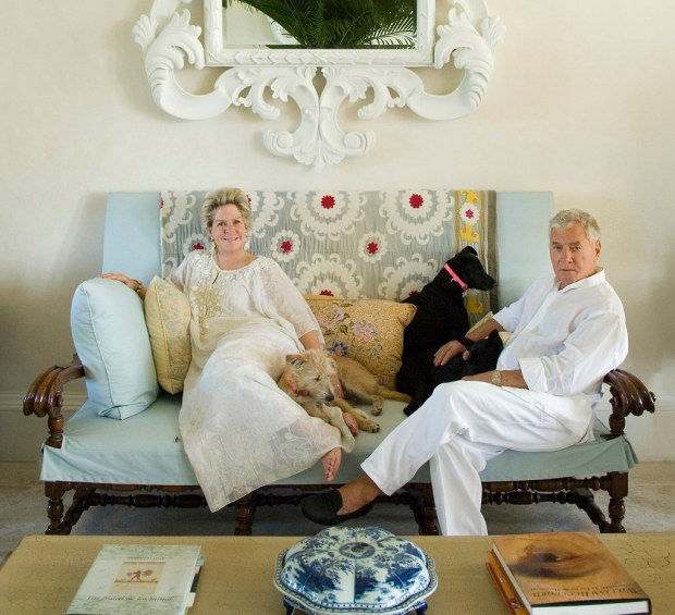 Bunny and John in their home in the Dominican Republic (Photo: Ricardo Labougle)