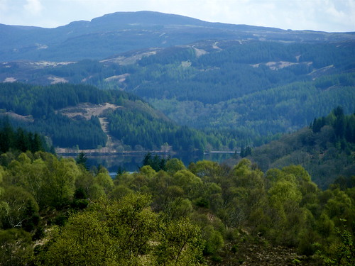 Loch Drunkie From Lookout